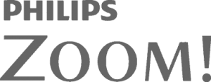 Philips Zoom grey logo